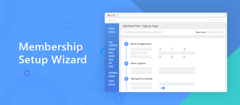 ARMember - Membership Setup Wizard