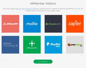 wordpress membership plugin Add-ons