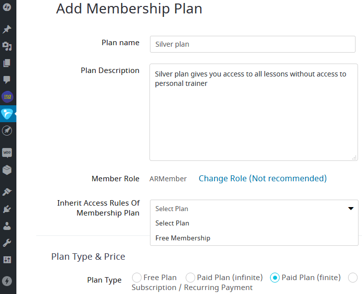 armember membership plan