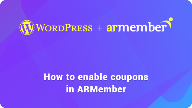 Enable and create coupon code guide
