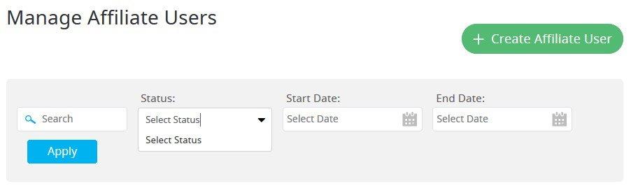 affiliates filters