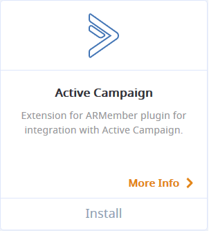 ARMember Active Campaign Addon