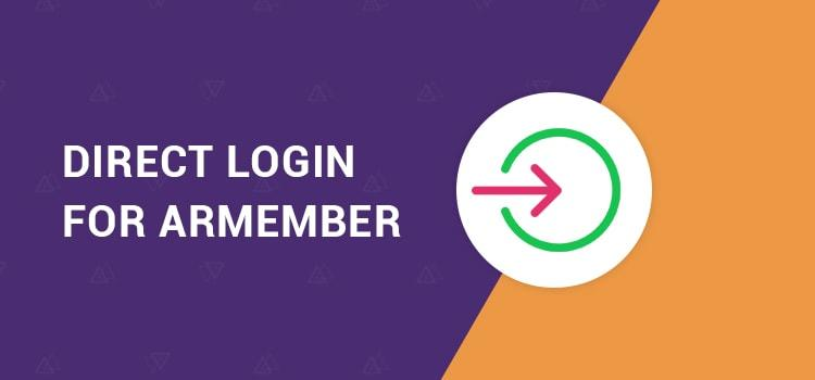 ARMember - Direct Login Addon