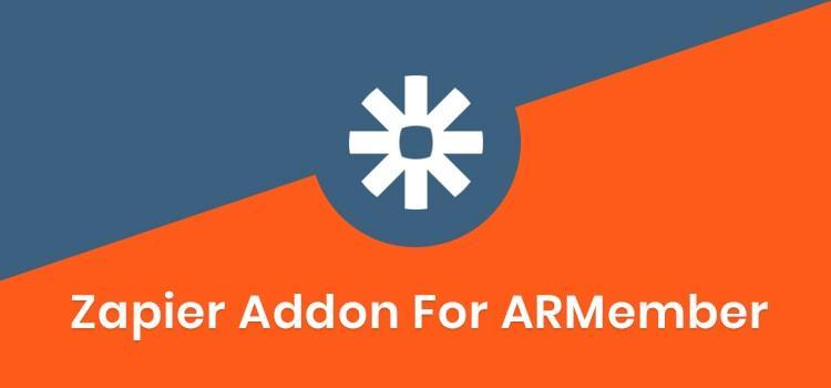 ARMember - Zapier Addon