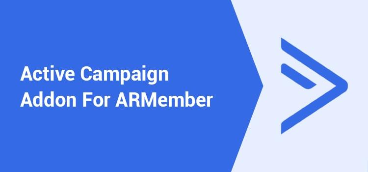 ARMember - Active Campaign Addon