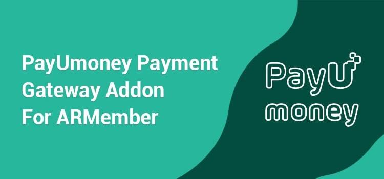 ARMember - PayUmoney Payment Gateway Addon