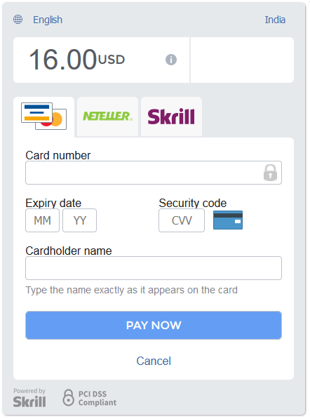 armember skrill payment gateway addon