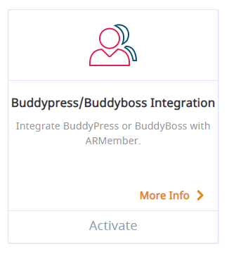 ARMember BuddyPress & Buddyboss Integration