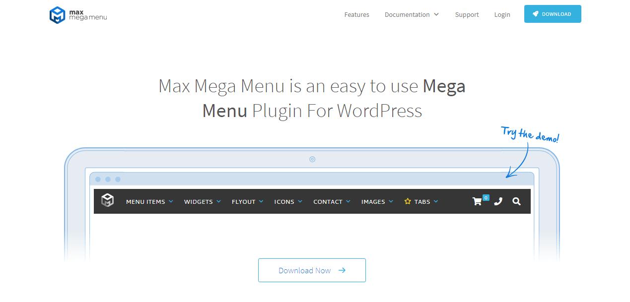 Max Mega Menu-min