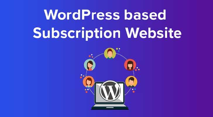 Subscription Websites