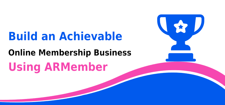 Online Membership Business Using ARMember