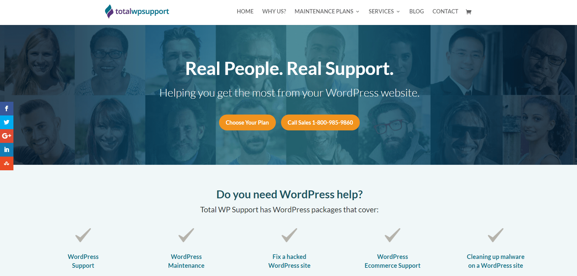 Total WP Support
