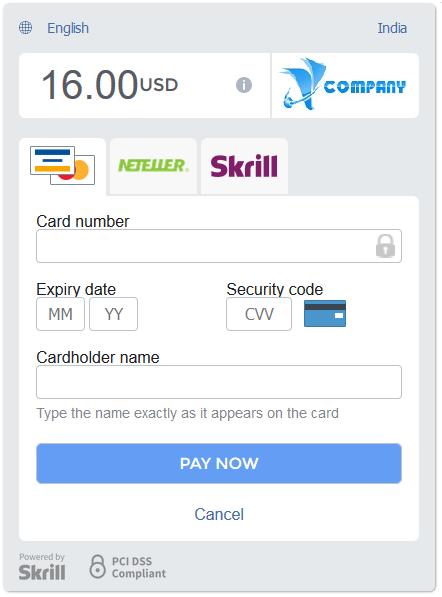 ARMember skrill payment gateway addon