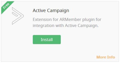 Active Campaign Integration - Wordpress Membership Plugin