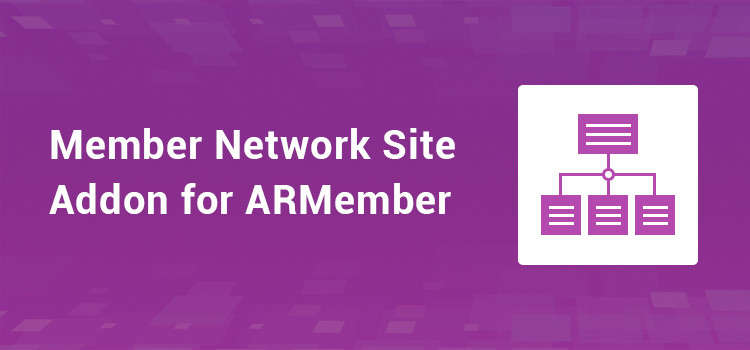 ARMember - Member Network Site Addon